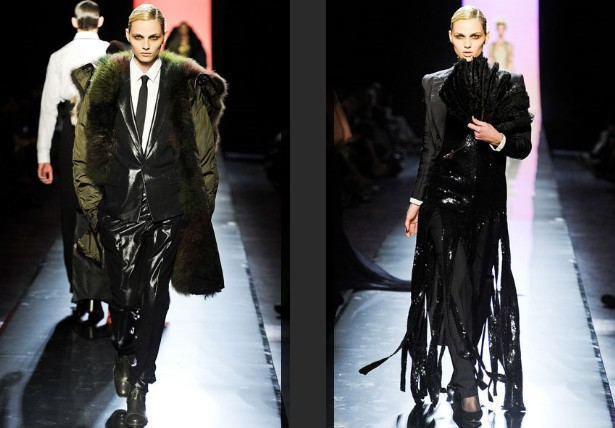 Jean Paul Gaultier: Andrej Pejić (Foto: Vogue.co.uk)