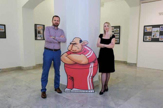 Nik Titanik i Sonja Švec Španjol. Foto: Marko Polonio