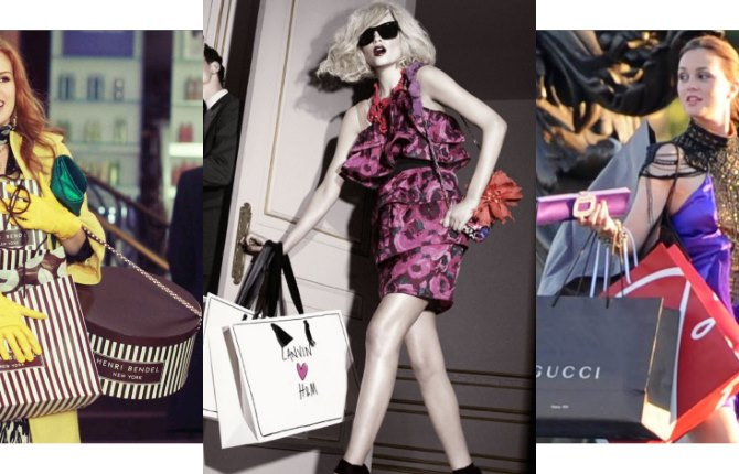 Ilustracija | Foto: H&M, screenshot / Confessions of a Shopaholic
