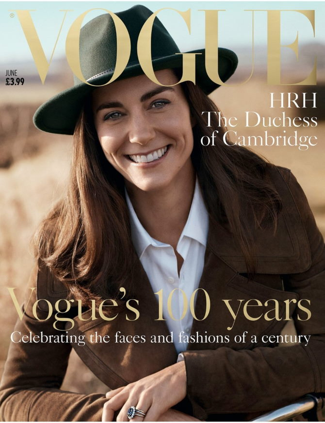 Kate Middleton. Foto: Vogue