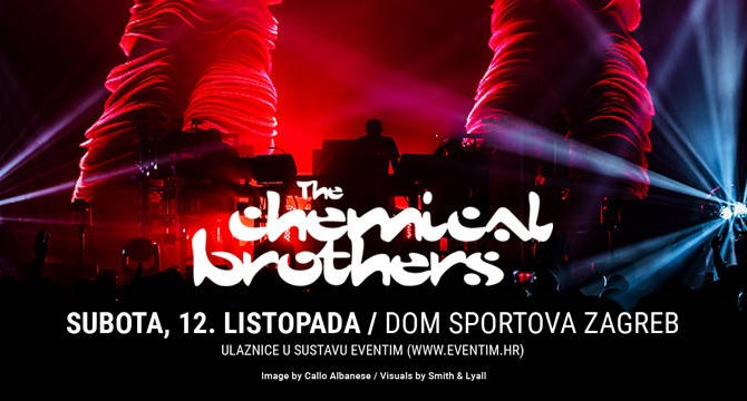 The Chemical Brothers stižu u Dom sportova