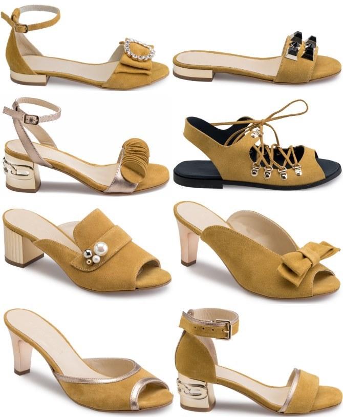 Izvrsna zbirka Guliver sandala u najtraženijim nijansama žute
