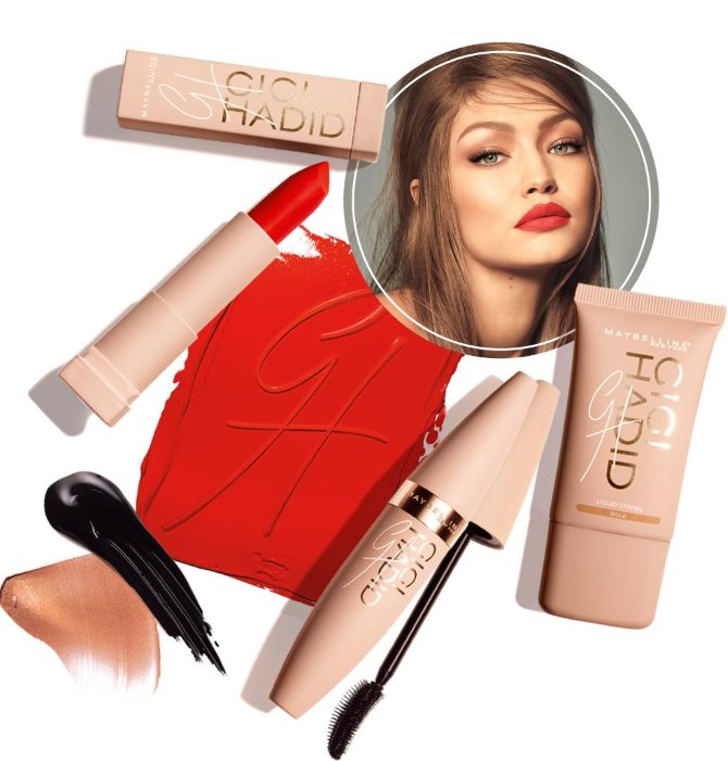 Gigi Hadid za Maybelline New York