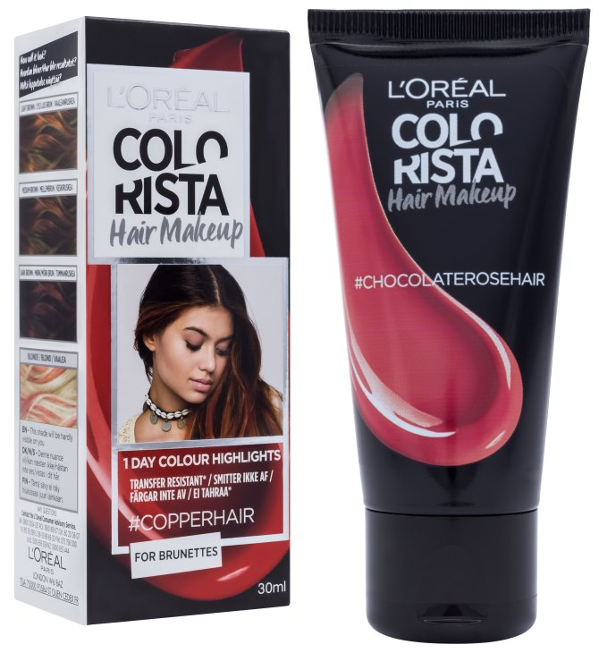 L'Oréal predstavlja Colorista Hair Make up