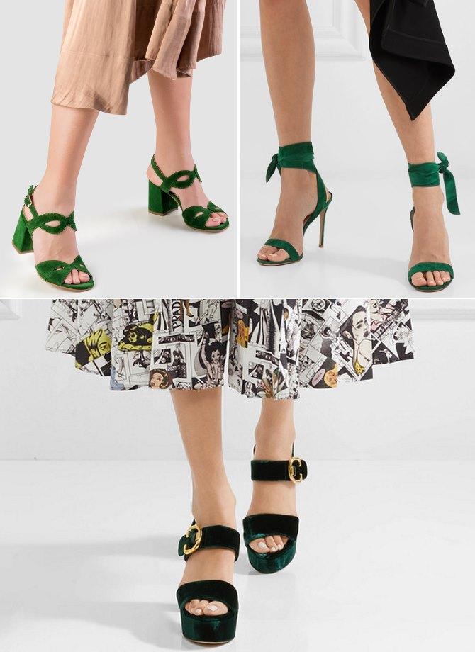 Gore lijevo: Guliver, sandale Stefania, cijena: 590 kn; gore desno: Gianvitto Rossi, cijena: 620 EUR / Net-a-porter; dolje: Prada, cijena: 690 EUR