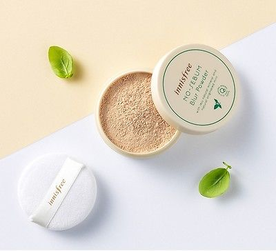 Innisfree no sebum blur mineral powder mint
