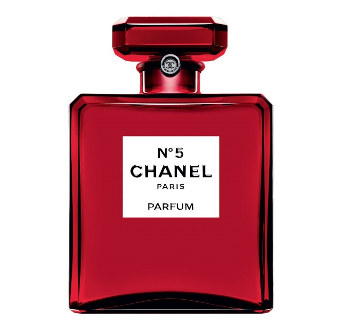 Chanel No 5 Colletor Red Editions