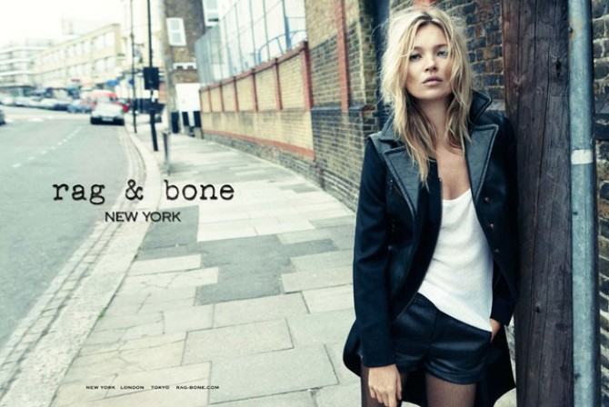 Kate Moss za Rag & Bone