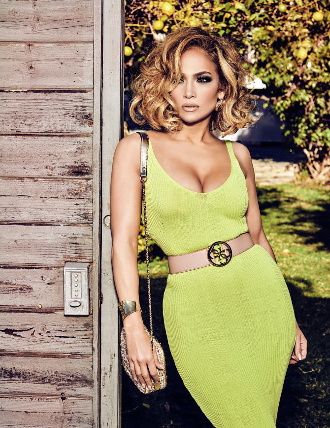 Jennifer Lopez za Guess
