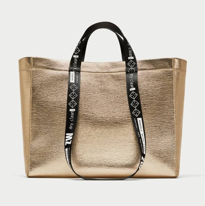 Shopper torba by Zara