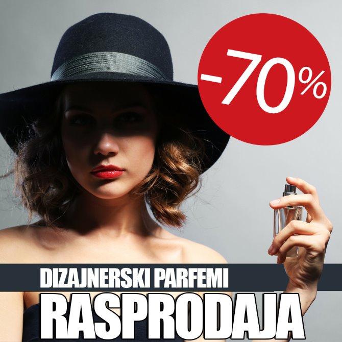 Dizajnerski parfemi po 70% povoljnijim cijenama