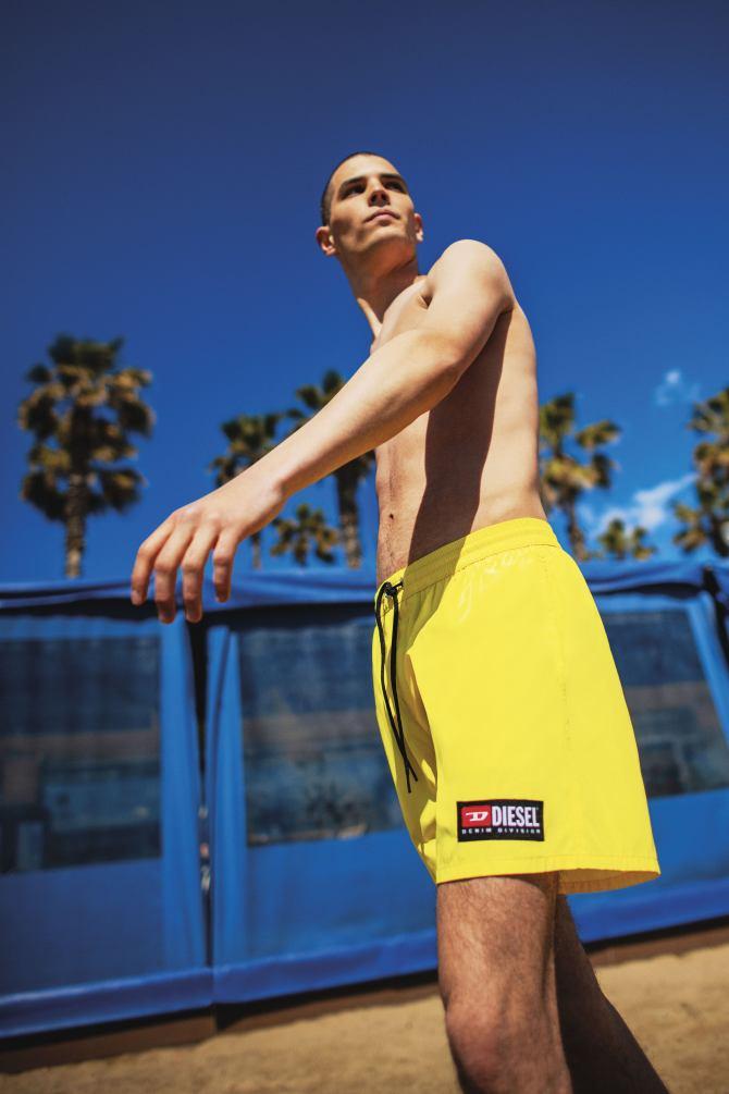 Dieselova muška beachwear kolekcija mnogima će zapeti za oko!