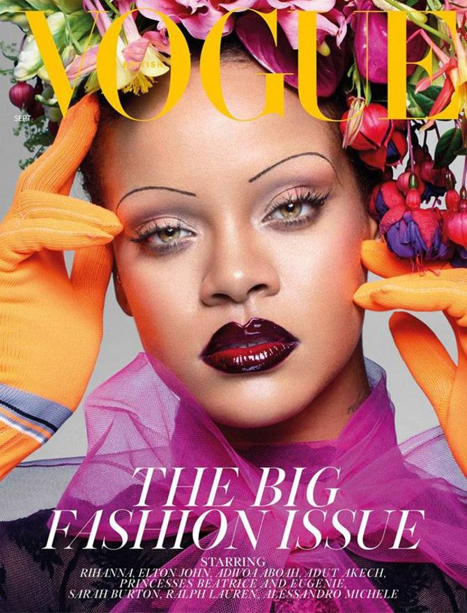 Rihanna za britanski Vogue | Foto: Nick Knight