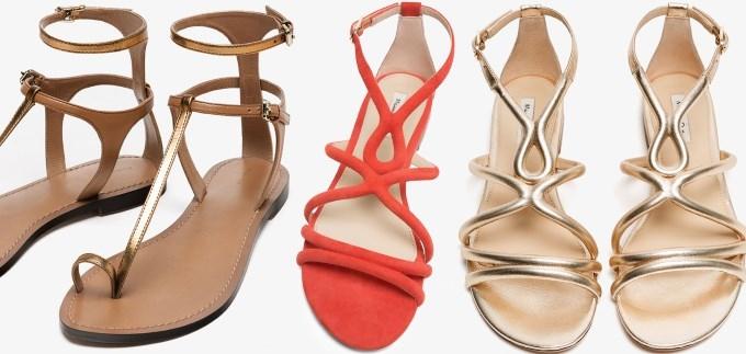 célèbre marque de designer 60% de réduction super service Ravne sandale by Massimo Dutti: Izdvojili smo najljepše ...
