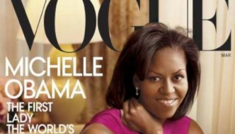 Michelle Obama na coveru američkog Voguea