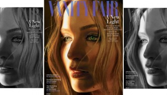 Jennifer Lawrence zablistala za Vanity Fair