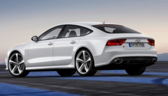 RS 7 Sportback: Audijev veliki coupe s pet vrata