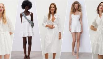 10 bijelih haljina koje su idealne za proljeće i ljeto 2021.