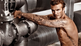 FOTO, VIDEO: Golišavi David Beckham još jednom za H&M