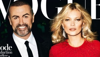 Ikone 80-ih i 90-ih: George Michael i Kate Moss za Vogue