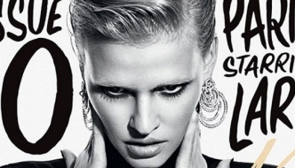 Lara Stone i CR Fashion Book plešu u modnom ritmu Pariza