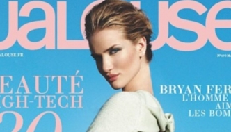 Rosie Huntington-Whiteley u Burberryju za Jalouse
