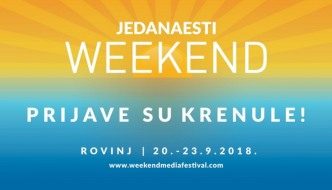 Predstavljen 11. Weekend Media Festival, idemo u Rovinj!