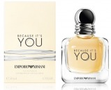 Emporio Armani Because It's You: Miris zavođenja i senzualnosti